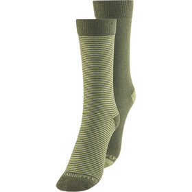 Craghoppers NosiLife Socks Twin Pack Herren parka green/dry grass